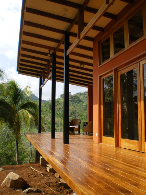 Miramar Bungalow  Tropical  Porch  other metro  by Fivedot