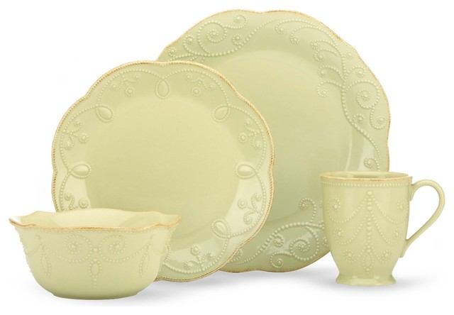 Image Result For Lenox French Perle Pistachio Piece Place Setting