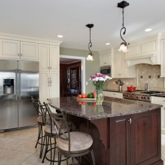 Light Gray Accent Chairs Best Living Room Off White Kitchen With Dark Island - Barrington, Il Traditional Chicago By ...