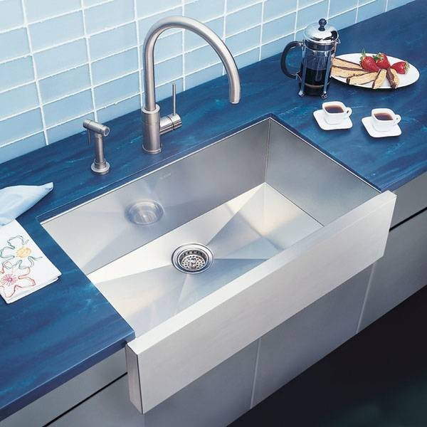 Blanco Precision Super Single Bowl Stainless Steel Sink