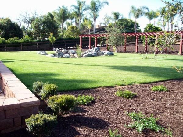 acre landscape design project
