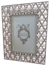 Olivia Riegel Pegeen Swarovski Crystal and Pearl 4x6 Photo ...