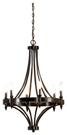 Wrought Iron Modern Chandeliers