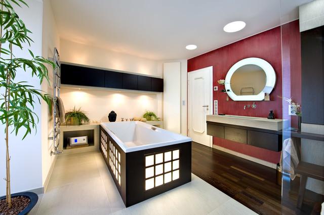Innenaubau Wohnungen in Berlin und Mnchen  Asiatisch  Badezimmer  Bonn  von Reinhold Brachmann
