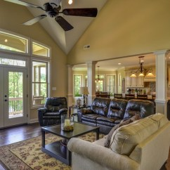 Cream Colored Leather Sofas What Colour Rug Goes With Brown Sofa Donald Gardner Home Design - Butler Ridge Glenn Harbor