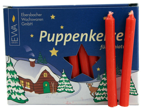 German Candle For Pyramids, Red