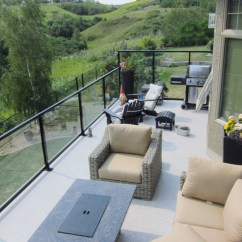 Sofas Companies Apartment Size Sectional Canada Deck Over Walkout Basement - Traditional Calgary