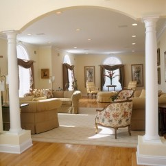 Decorating With Large Mirrors Living Room Tile Floors Pictures - Traditional Newark By ...