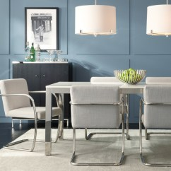 Mitchell Gold Chairs Pier One Slipper Classic Parsons Style Dining - Modern Room Charlotte By + Bob Williams