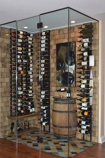 Building a small wine cellar a diy job toolbox divas - Cavas de vinos para casa ...