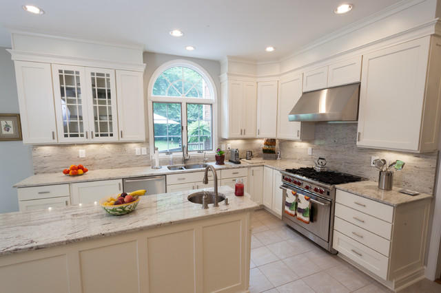 Bright and Airy Kitchen  Traditional  Kitchen  DC Metro