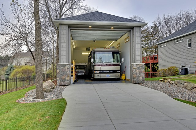 Garage Heater Installation Minneapolis Exteriors - Traditional - Garage - Minneapolis - By