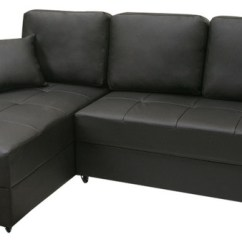 Aspen Convertible Sectional Storage Sofa Bed Double Purple Sotrage Contemporary Black