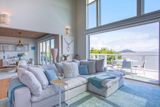 My Houzz: Bay-Inspired Palette For A California Family Home ( Photos)