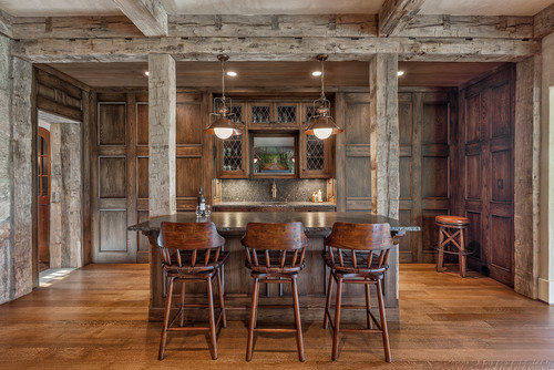 Photo By Wright Design U2013 More Rustic Home Bar Ideas