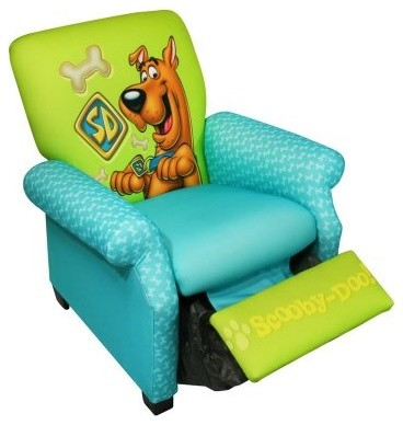 scooby doo chair folding teak chairs with arms warner brothers deluxe recliner modern kids by hayneedle