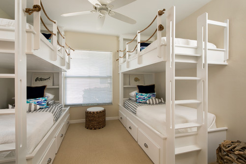 rope decor bunkbeds