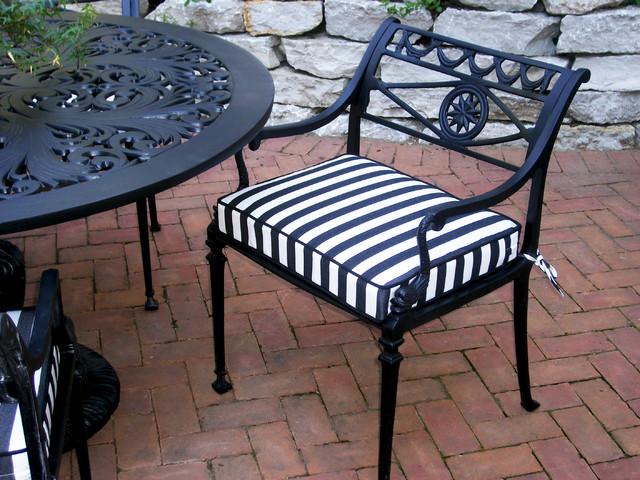 Pillow Perfect Outdoor Black White Polka Dot Toss Pillows Square