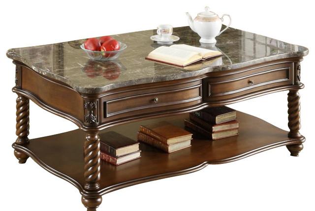 Homelegance Lockwood 3-Piece Rectangular Coffee Table Set