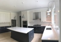 Modern Scandinavian Farmhouse | Black and White Kitchen