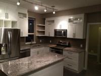 Small Condo Kitchen - Contemporary - Kitchen - Calgary ...