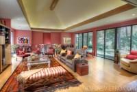 Woodland Zen Retreat - Traditional - Living Room - New ...
