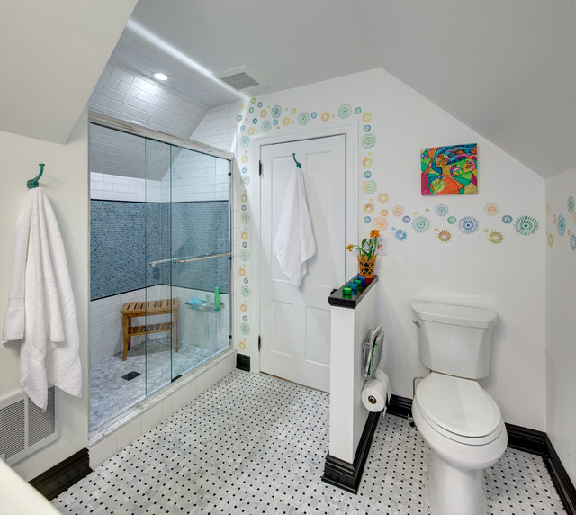 super cute! teen bath - eclectic - bathroom - new york - by tracey