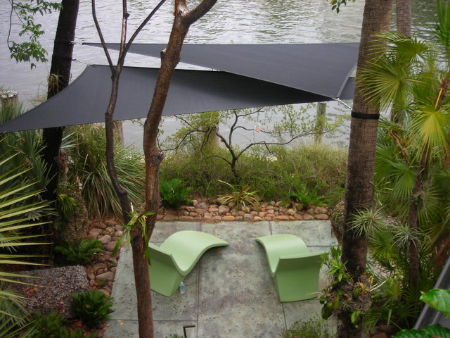 Shade Sails  Tropical  Patio  Miami  by Smart Shade Solutions Inc