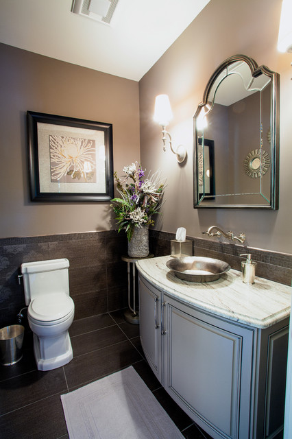 French Country Traditional Bathroom Houston By
