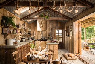 Firefly rustic-dining-room