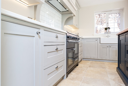 Blue & Grey Kitchen - Berkshire