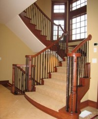 Flared Staircases - Traditional - Staircase - by Great ...