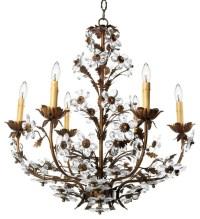 Canopy Designs Crystal Petal A Chandelier - Modern ...