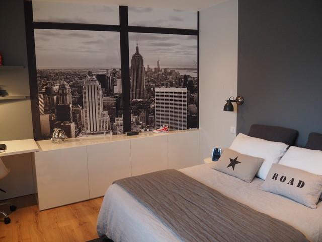 Chambre dado sur le thme de New York
