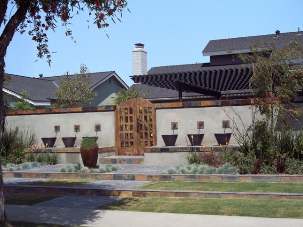front yard retreat - modern landscape
