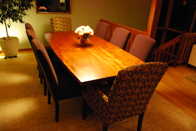 African Mahogany Dining Table