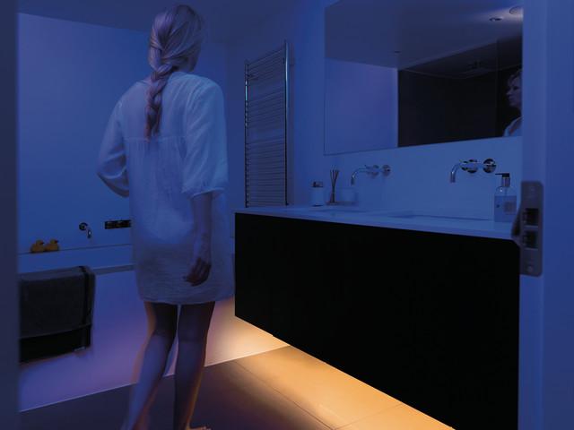 Bathroom Night Light Contemporary Bathroom New York By E3illumination Inc Houzz Uk