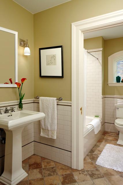 Guest Suite Bathroom traditional-bathroom