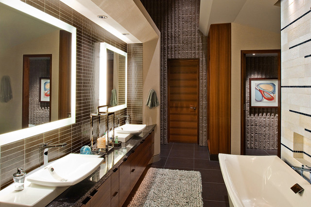 z gallerie chairs affordable massage chair modern master bath - contemporary bathroom phoenix by wintercreative interior design ...