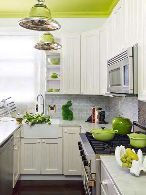 Home Architec Ideas Apple Green Kitchen Design