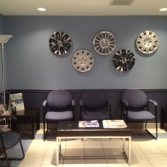Lobby Chairs Waiting Room Chair Hanging Stand In A Tire Store - Contemporary Shed Toronto By Chic Alors Decor & Design
