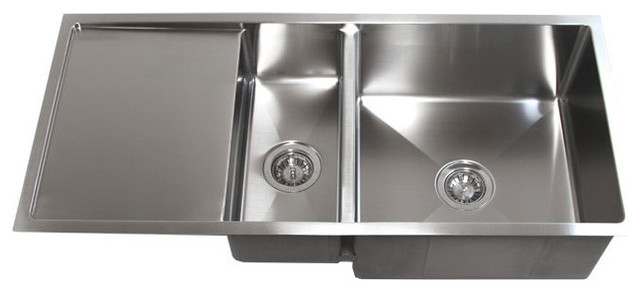 kitchen draining board appliance shelf 42 stainless steel undermount double bowl sink drain