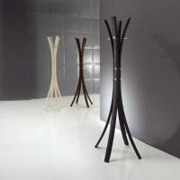 'Stick' Modern upholstered free standing coat rack by ...