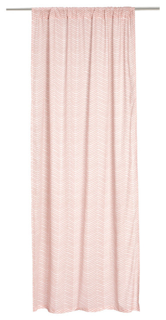 grommet kitchen curtains drop in farmhouse sinks curtain panels, light pink, set of 2 - contemporary ...