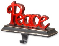 """""""Peace"""" Stocking Holder - Traditional - Christmas ..."""