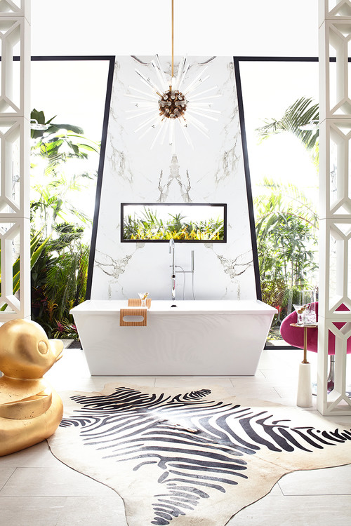 Palm Springs Modern Bathroom
