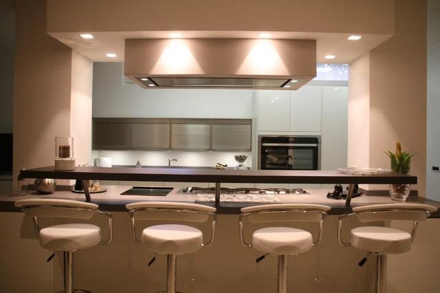 Progetto Hacker cucine Aurelia  Contemporaneo  Cucina  Roma  di Hacker Kitchen Roma
