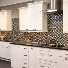 Grey Kitchen Cabinets For Sale Stonewall Com Malibu White Shaker - Traditional ...
