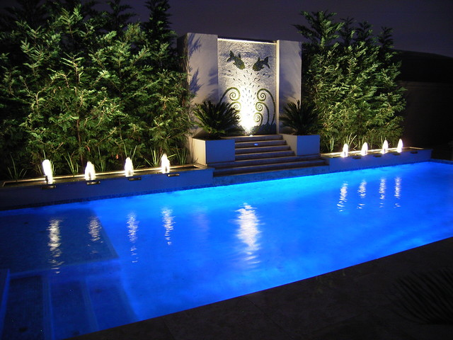 Pool Water Features  Contemporary  Pool  Melbourne  by