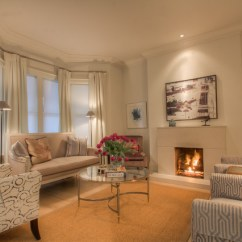 Living Room Design Ideas Tv Over Fireplace Interior Paint Colors Rosedale Semi-detached - Contemporary ...